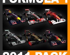 F1 2011 Car Ferrari McLaren Red Bull Toro Rosso 3D 1