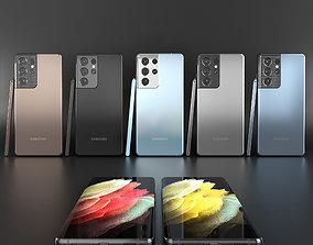 3D Samsung Galaxy S21 Ultra ultra