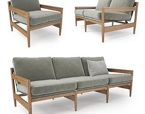 Roda ROAD Sofa Collection 3D Model