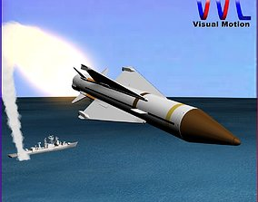 Sea Wolf Missile 3D
