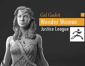 Gal Gadot - Wonder Woman - Justice 3D printable model