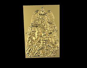 3D printable model Triumphal Arch bas-relief