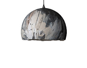 Pendant lamp Malva graphic 75 3D model