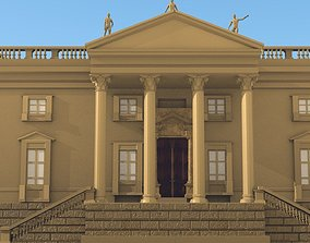BAROQUE THE GOVERNMENT OR PALACE 3D asset