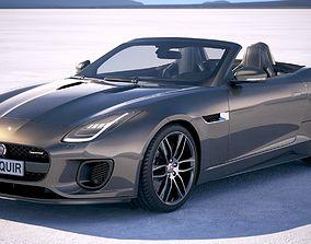 3D Jaguar F-Type R dynamic Convertible 2018