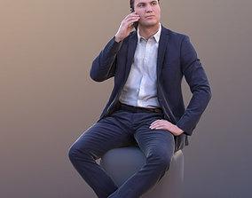 3D model Marcel 10309 - Sitting Business Man