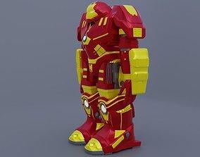 3D superhero Hulk Buster