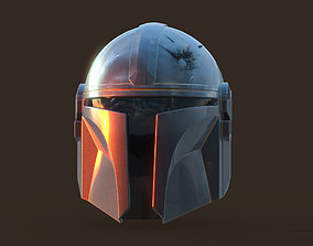 Mandalorian Helmet Modelo 3D