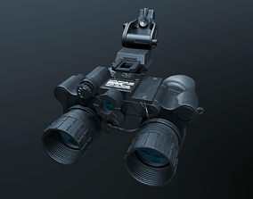 Night Vision Goggles 3D asset low-poly