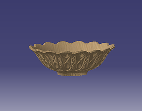 3D printable model kenzo shallow large bowl for print 1