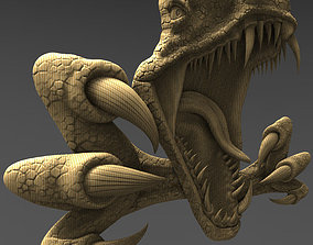 raptor 3D print model