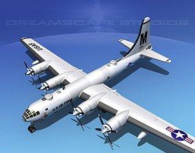 Boeing B-50 Superfortress V01 3D