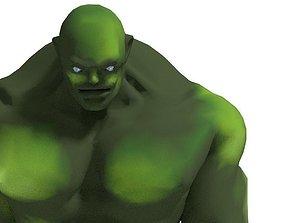 Muscle Man Walking 3D model
