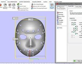 3D printable model Hockey Mask High Quality No Errors