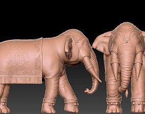 Elephant India 3D print model