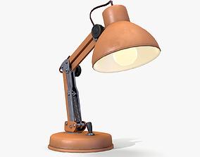 3D asset low-poly Desk Lamp