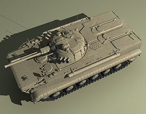 3D model BMP3 Russian APC2