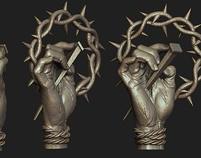 Hand of Jesus Pendant 3D printable model