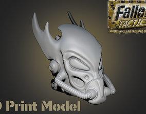 Fallout Tactics Helmet 3D printable model