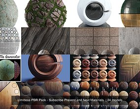 3D Limitless PBR Pack - Subscribe Present and Next 1