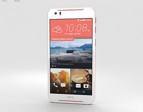 3D model HTC Desire 830 White-Red