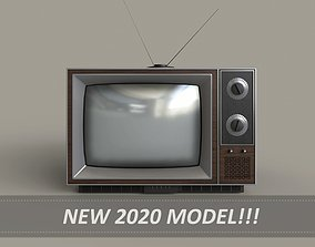 3D asset Classic Television