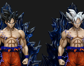 Goku Ultra Instinto - Dragon Ball 3D print model
