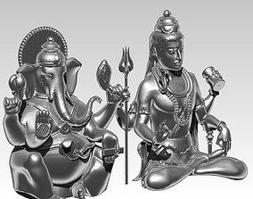 gautama buddha ganesha ganapati elephant 3D print model 2