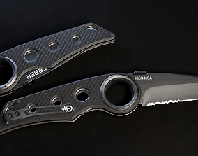 3D asset Gerber Tactical Remix Knife