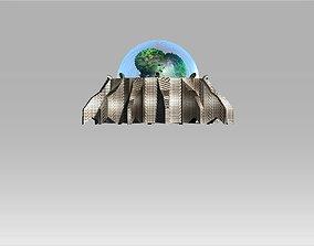 Oxygen Generator Dome 3D model