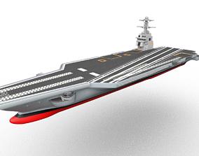 USS Gerald R F Aircraft Carrier CVN-78 3D model