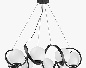 803167 Globo Lightstar Chandelier 3D model