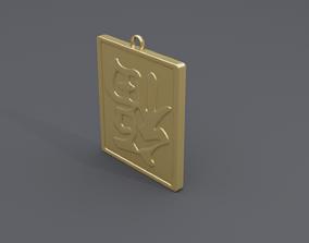 rgd fu dao pendant 2 3D print model