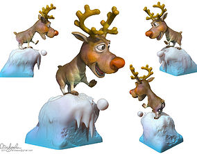 sculptures Rudolph 3D printable model
