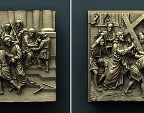 Stations of the cross 3D printable model