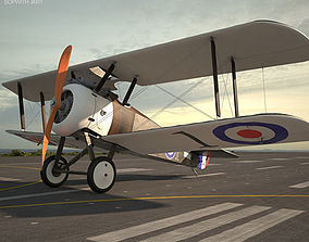 3D model Sopwith Camel british