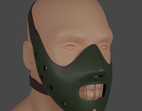 Hannibal Lecter mask 3d model