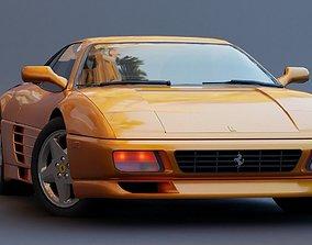 3D asset Ferrari 348