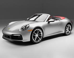 Porsche 911 Carrera Cabriolet 2020 3D