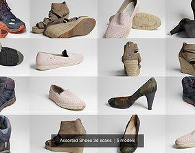 Assorted Shoes 3d scans PBR