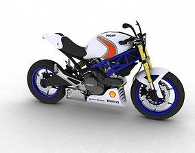 Ducati Monster 796 Racer 2012 3D