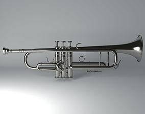 brasswind Trumpet 3D Model