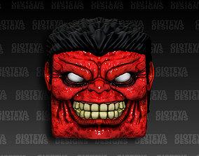 Red Hulk Wacom Pen Cap 3D model