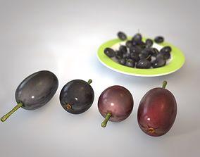 3D model Jambul Fruit