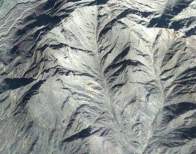 3D model Mountain Range Central Afghanistan