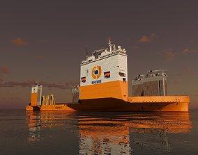 Dockwise Vanguard lift 3D model