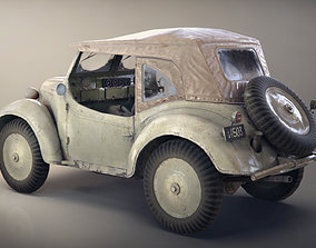 Game-Ready Japanese scout car Type 95 3D asset