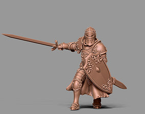 3D printable model Paladin - Sir dorian 35mm