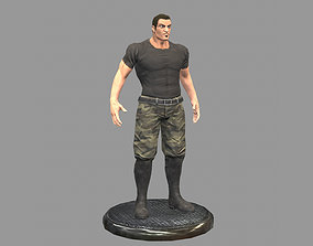 3D model Thug Soldier