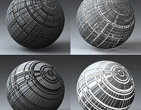 Syfy Displacement Shader H 001 n 3D model